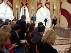 Фото Регнум.Глава Чувашии Михаил Игнатьев в 10 часов начал пресс-конференцию