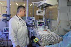Чебоксарская ГЭС подарила перинатальному центру оборудование для реанимации новорожденных