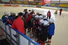 Главный тренер команды 2006 г. р. объясняет ребятам тактику игры.Где рождаются рыцари клюшек и шайб хоккей ХК Сокол СДЮСШОР № 4