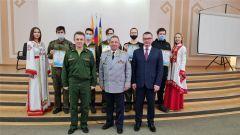 Новочебоксарск посетил Герой Российской Федерации, генерал-лейтенант Николай  Гаврилов 23 февраля - День защитника Отечества