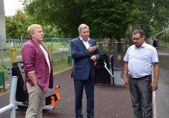 Депутат Госдумы РФ Николай Малов посетил Новочебоксарск
