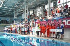 Первенство России по плаванию среди глухих стартовало в СШОР-3