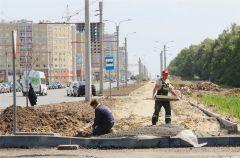 Застройка Нового города идет высокими темпами. Фото: ХыпарТемпы ввода жилья в Чувашии выросли на 69% жилье