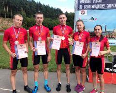 Сборная Чувашии по маунтинбайку - серебряный призер чемпионата России