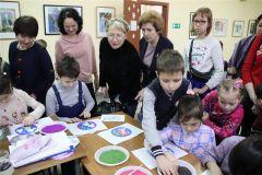 Мастер-класс по изготовлению подарочных поделок и открыток.Семейный день в культурных центрах Новый год - 2020