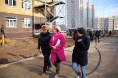 Как строится детский сад в Новочебоксарске