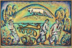 Выставка живописи Рабиса Саляхова «Восточное крыло»
