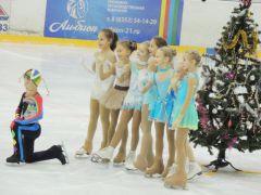 В ледовом дворце «Сокол» в Новочебоксарске прошла городская елка для школьников Новый год  2016