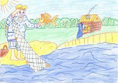 Михаил Евсеев, 10 лет (школа № 3).Солнцу русской поэзии посвящается На Парнасе 6 июня — Пушкинский день России