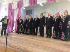 Получатели социальных услуг отделения дневного пребывания Новочебоксарского ЦСОН выступили перед ветеранами Великой Отечественной войны