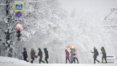 Московским школьникам разрешили не приходить в школу из-за снегопада снегопад