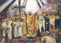 Медведев придал Дню крещения Руси государственный статус равноапостольный  князь Владимир День крещения Руси