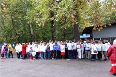 Медики Новочебоксарска присоединились ко Всероссийскому дню ходьбы