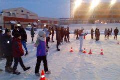 На Центральном стадионе им. А.Г.Николаева прошел «Рождественский переполох»