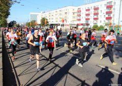 Пермский марафон. Фото gorodperm.ruАлина Прокопьева из Чувашии стала второй на Пермском марафоне марафон