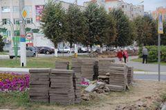 В Новочебоксарске началось благоустройство улицы Винокурова благоустройство улица Винокурова Новочебоксарск