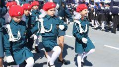 Более 3 тысяч горожан сплотила патриотическая акция в честь Дня Победы «Парад дошколят и юнармейцев-2018»