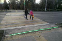 """Чебоксары постепенно переходят на """"лежачие"""" светофоры светофор дороги Безопасность дорожного движения"""