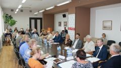 Обсуждение в Общественной палатеВ Общественной палате Чувашии обсудили повышение пенсионного возраста пенсионный возраст Общественная палата