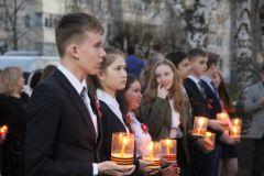 """Акция """"Свеча памяти"""" собрала более тысячи новочебоксарцев День Победы"""