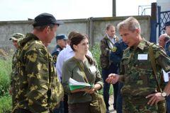 В Чувашии прошли командно-штабные учения спасателей командно-штабные учения МЧС