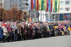 Михаил Игнатьев принял участие в праздновании Дня Победы в Новочебоксарске День Победы
