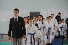 Состоялось торжественное открытие чемпионата и первенства Новочебоксарска по всестилевому каратэ карате