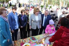 «Творческий бульвар» и Фестиваль мастеров народных промыслов День города Новочебоксарск-2019
