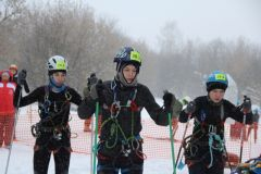 Снежинка-2018В Новочебоксарске проходят очередные республиканские соревнования по лыжному туризму «Снежинка - 2018» лыжи