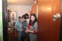 В рейде. Фото: nowch.cap.ruВ Новочебоксарске выясняли, как живется неблагополучным семьям Рейд