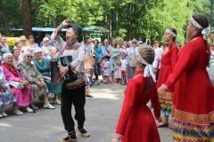 На Сабантуе в Новочебоксарске побывал председатель Госкомитета Татарстана по туризму Сергей Иванов Сабантуй