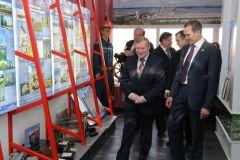 Глава Чувашии Михаил Игнатьев посетил ЗАО «Агрофирма «Ольдеевская» и «Чебоксарскую ГЭС» Визит