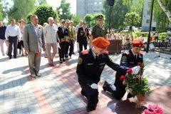 Фото администрации НовочебоксарскаПомнить  и помогать Бессмертный полк 70 лет Победы