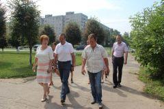 Глава Чувашии Михаил Игнатьев посетил Новочебоксарск Глава Чувашии Михаил Игнатьев