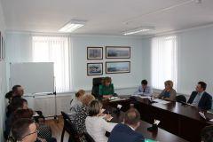 Обсуждение прошло под руководством министра финансов Чувашии Светланы ЕнилинойВ Минфине Чувашии обсудили вопросы централизации бухгалтерий минфин чувашии