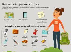 Инфографика с сайта www.gribnik-rossii.ruТихая охота: всем выйти из леса Школа выживания Безопасность