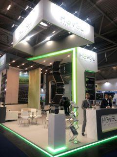 Группа компаний «Хевел» представляет флагманские продукты на Intersolar Europe Хевел