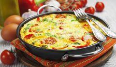 Итальянский омлет (фриттата)Что приготовить на даче Семейный стол