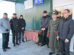 Дань памяти афганцам, окончившим школу №3 Новочебоксарска