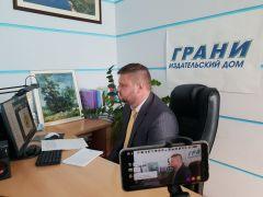 Олег Николаев ответил на десятки вопросов СМИ Чувашии Врио Главы Чувашии Олег Николаев
