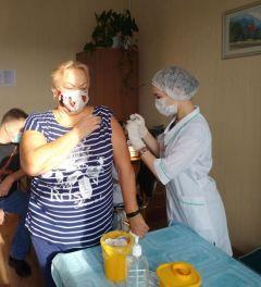 Праздник с пользой: все желающие вакцинировались от сезонного гриппа.Спасибо за позитив и дружбу #ГраниВсегдаСТобой