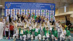 В Новочебоксарске прошли межрегиональные соревнования по каратэ