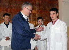 На «Химпроме» прошел конкурс среди студентов «Лучший по профессии»