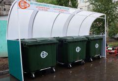 В ходе горячей линии горожане предложили управляющим компаниям оформлять контейнерные площадки подобным образом. Наведем порядок на мусорных площадках экология города