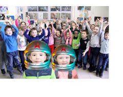 Фото Марии СМИРНОВОЙЮных манят далекие звезды День космонавтики