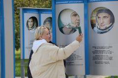 Селфи в саду космонавтов. Фото автораДо звезд рукой подать! Музей космонавтики 100 символов Чувашии