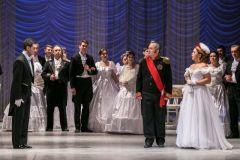 Фото Сергея МихайловаНа открытии оперного фестиваля показали эксклюзивный фильм XXVII Международный оперный фестиваль