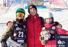 Лана Прусакова – победительница, Дмитрий Мулендеев – бронзовый призёр международного фестиваля фристайла в Миассе