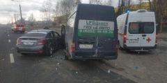 270-я попала в ДТП: 8 человек пострадали
