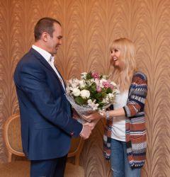 """Валерия: """"Я очень люблю приезжать в Чувашию"""" Глава Чувашии Михаил Игнатьев"""